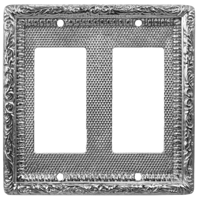Vintage Hardware Lighting Victorian Decorative Double Gfi Or Rocker Switch Plate Cover L W14