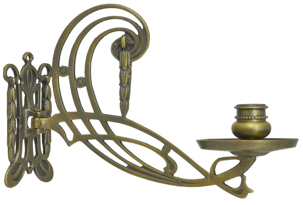 quality design a0d4d 61c2c Swing Arm Brass Antique Piano Candle Sconce (ZLW-120)