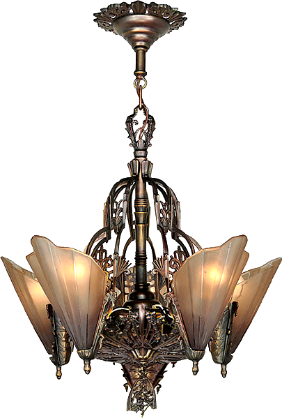 Table Lamp Design Classic Art Deco