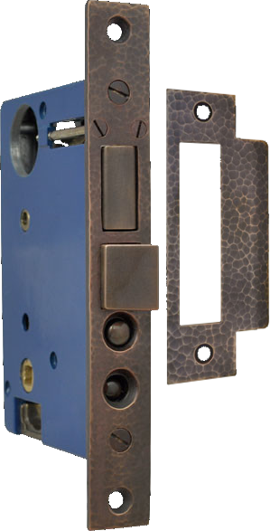 Thunblatch to thumblatch entry door mortise lock
