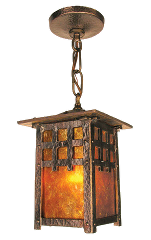 Vintage hardware lighting arts and crafts craftsman and arts crafts craftsman mission newel post lights pendant lights mozeypictures Image collections