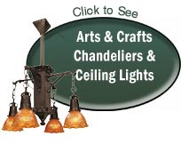 arts and crafts chandeliers ceiling lights