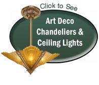 art deco chandeliers ceiling lights