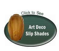 art deco glass shades