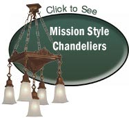 mission style chandeliers ceiling lights