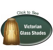 victorian glass shades