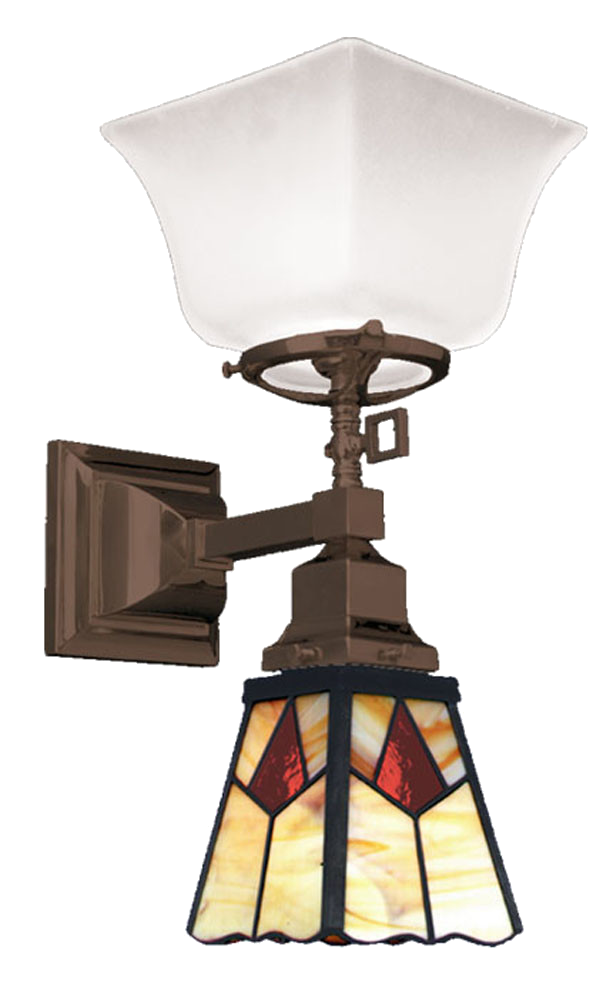 Mission Wall Sconce With Switch : Vintage Hardware & Lighting - Arts and Crafts, Craftsman, and Mission Style Lighting