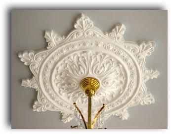 Vintage Hardware Lighting Plaster Ceiling Medallions