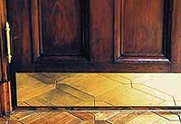 brass door thresholds and kickplates