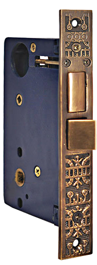 Knob to thumblatch entry door mortise lock