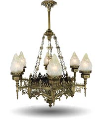 gothic chandeliers and lighting