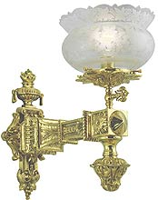 reproduction gas lighting chandeliers and transition lighting