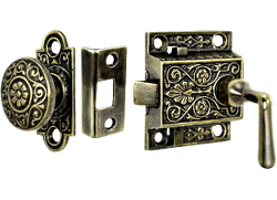 Captivating Privacy Lock Sets · Vintage And Victorian Entry Plates For Door Knob Or  Thumblatch
