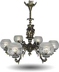 victorian and rococo lighting