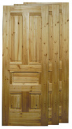 Wooden Door and Molding