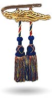 vintage curtain hardware tiebacks tassels