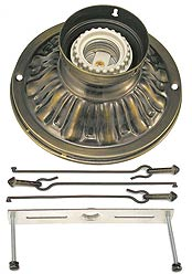 Vintage Hardware Lighting Stem And Ceiling Kits Fitters