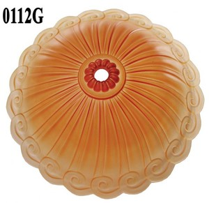 Lincoln Fleur De Lis Orange Bottom Shade (0112G)