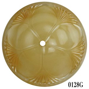 Mid-West Art Deco Bottom Shade (0128G)