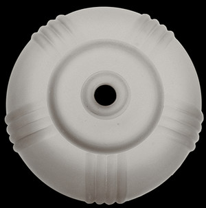 Art Deco Markel Frosted Glass Disk Shade (0130G)