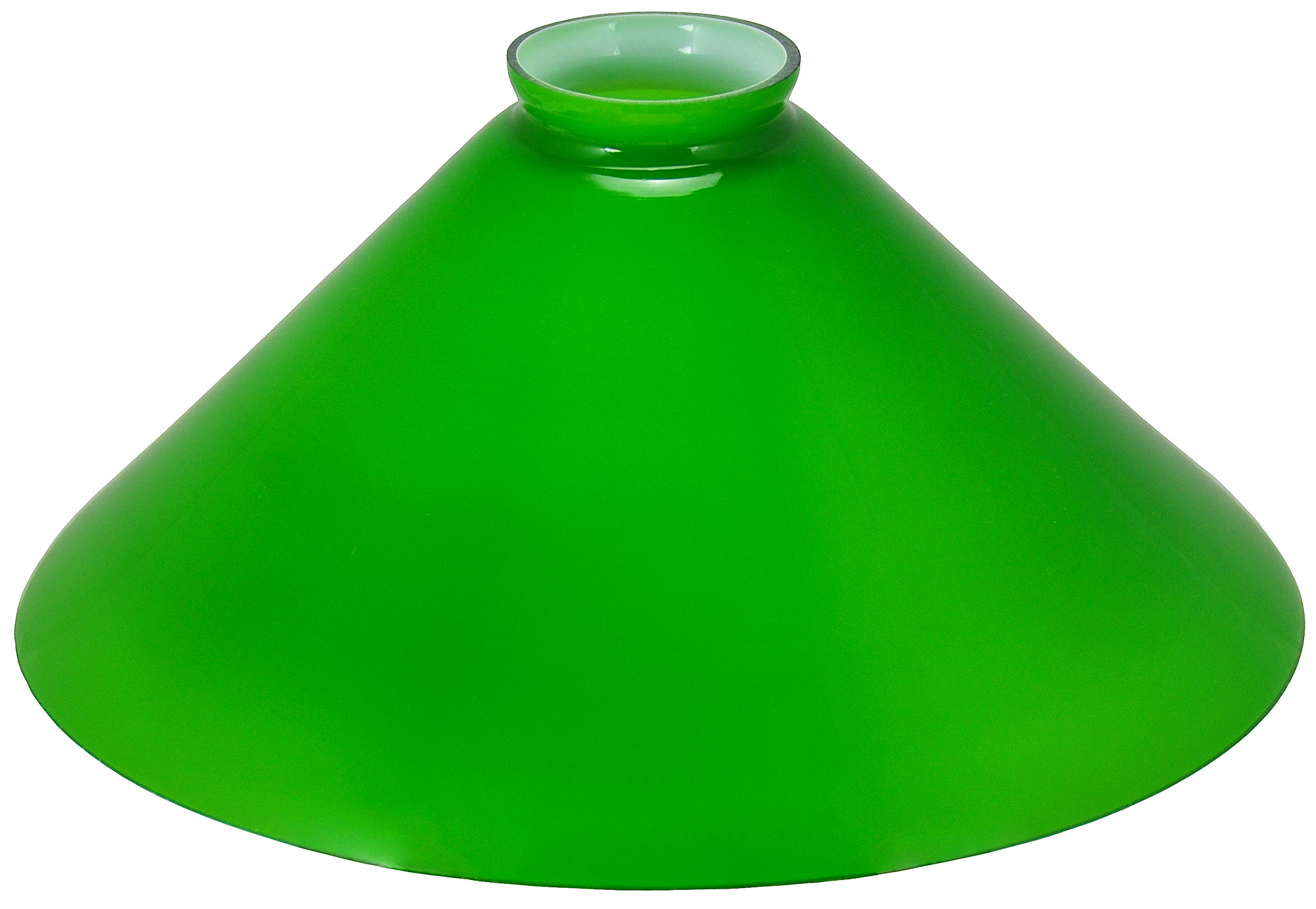 Glass Shade Recreated Green 10