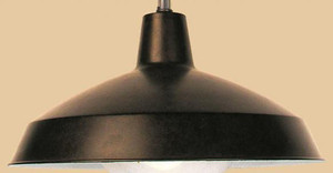 Metal Barn Light Shade Only - Choice of Color (0241B)