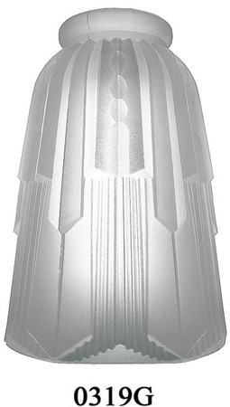 Hughes Art Deco Shade 2 1/4