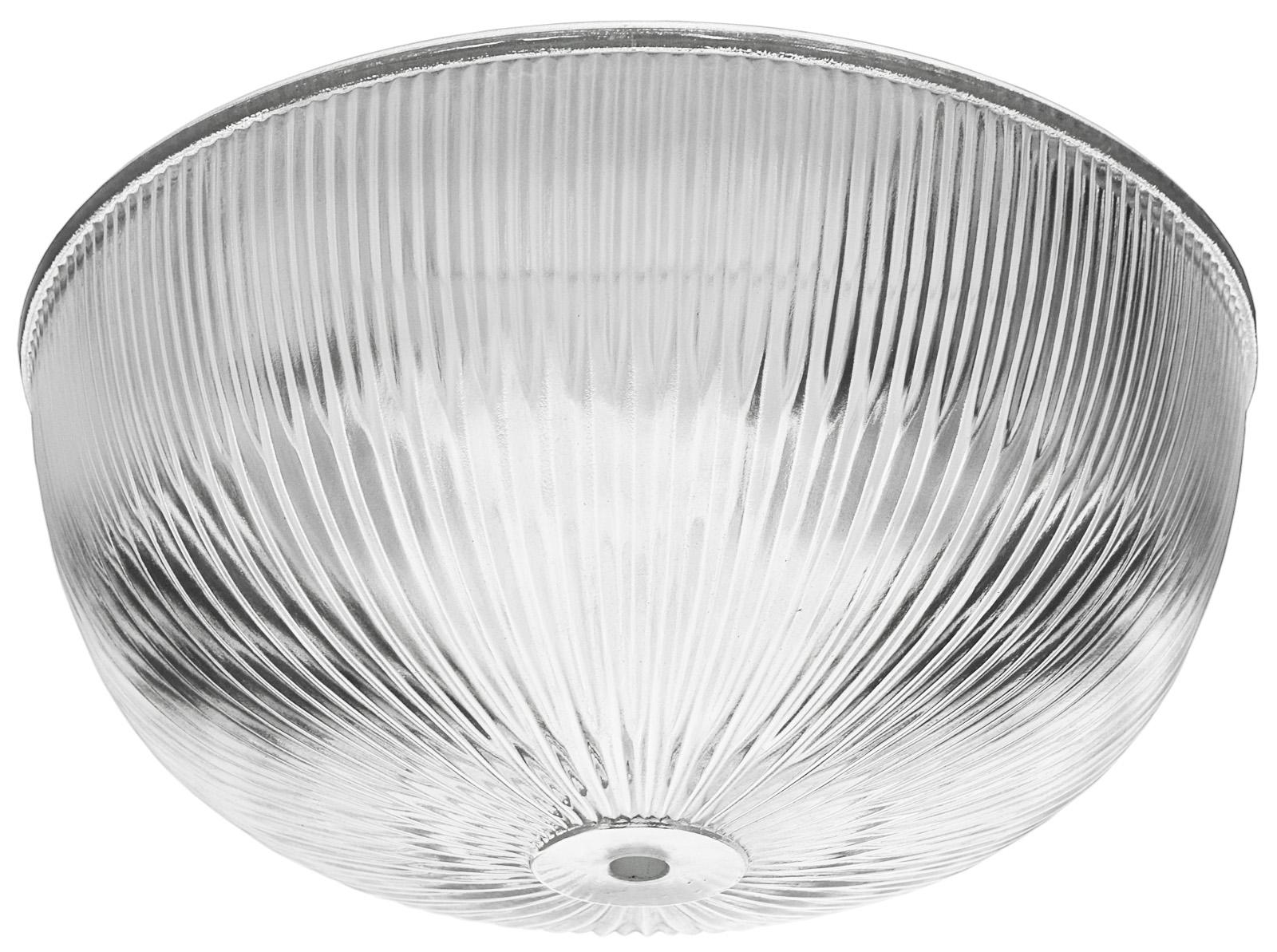 Vintage Recreated Gl Holophane Bowl Shade 0603g