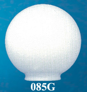 "Opal Glass 8"" Ball Shade 4"" Fitter (085G)"