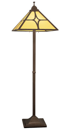 Mission Floor Lamp Diamond Shade (108-MJ1-FL)