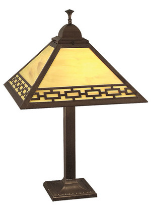 Mission Table Lamp Chain Shade (110-BC1-PL)