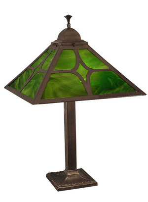 Mission Table Lamp Diamond Shade (111-BJ1-PL)