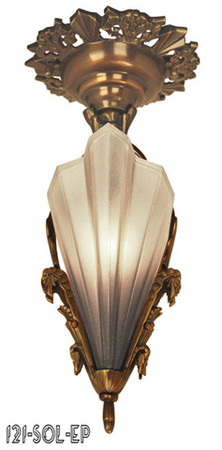 Art-Deco-Pendants-Close-Ceiling-Lights-Slip-Shade-Soleure-Series-(121-SOL-EP)