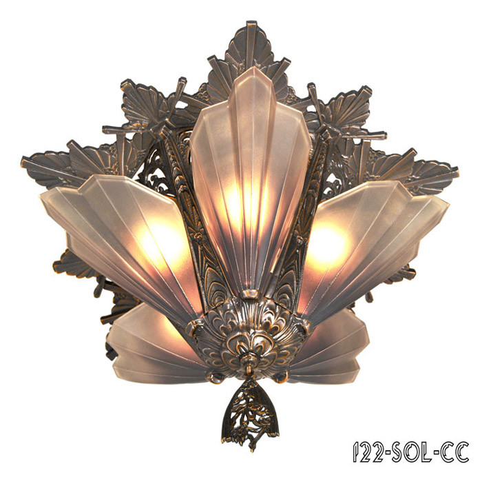mount chandeliers 5 light soleure series by mid west 122 sol cc