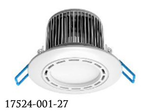 LED Diffused and Dimmable 24Watt LED Recessed Can Light (17524-001-27)