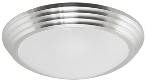 Art Deco Style LED Flush Mount Ceiling Bowl Lens Light (18-54420-27)