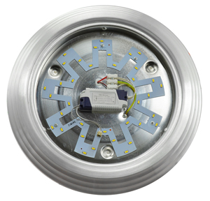 Art-Deco-Style-LED-Flush-Mount-Ceiling-Bowl-Lens-Light-(18-54420-27)
