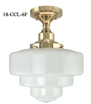 Close-Ceiling-Light-Schoolhouse-Style-Semi-Flush-Mount-with-6-inch-Fitter-(18-CCL-6F)