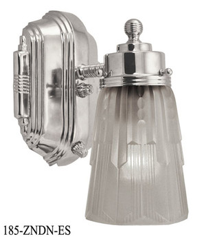 Art Deco Streamline Modern Wall Sconce (185-ZNDN-ES)