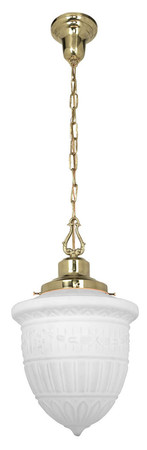 "Victorian Schoolhouse Chain Hanging Light-No Shade- with 6"" Fitter (20-EHL-6F)"