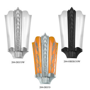 Art Deco Wall Sconces Large Theater Lights (204-DECO)