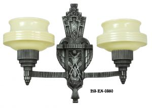 Art Deco Sconces Wall Lighting Lights Two Arm (213-ZN-DES)