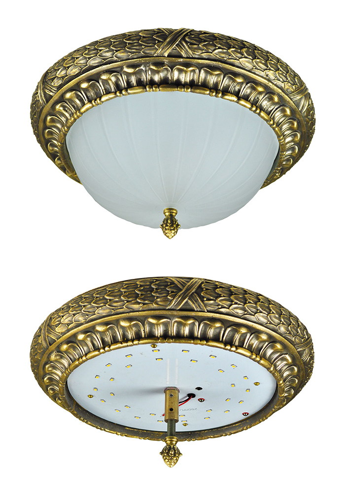 Vintage Hardware Amp Lighting Victorian Or Edwardian Close Ceiling Light Flush Mount 15w Led