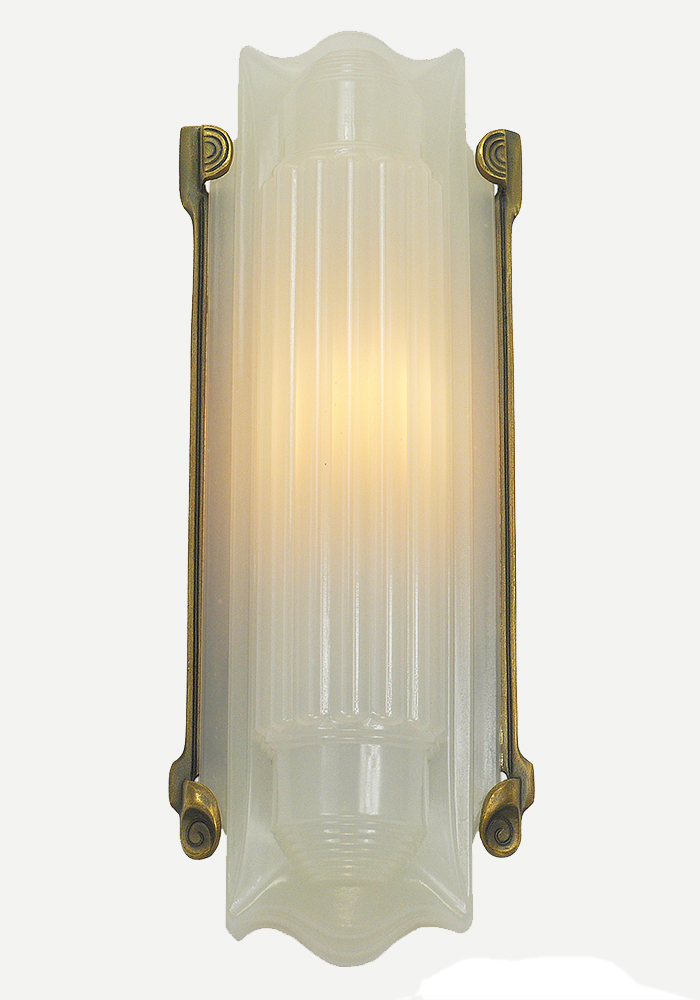 Vintage Hardware & Lighting - Art Deco Wall Sconce Recreated 1930s ...