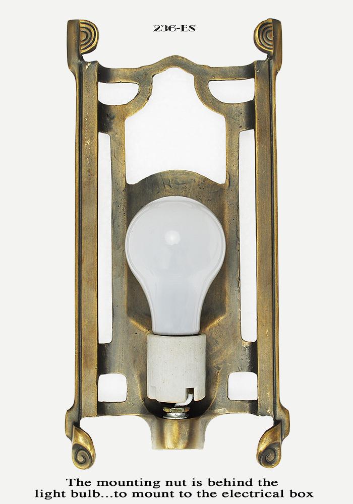 Vintage Hardware Amp Lighting Art Deco Wall Sconce