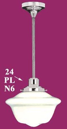 Pipe-Mounted-Schoolhouse-Light-6-inch-Fitter-(24-EPL-6F)