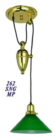 Victorian-Light---Antique-Recreated-Edwardian-Pulley-Light-(262-SNG-MP)