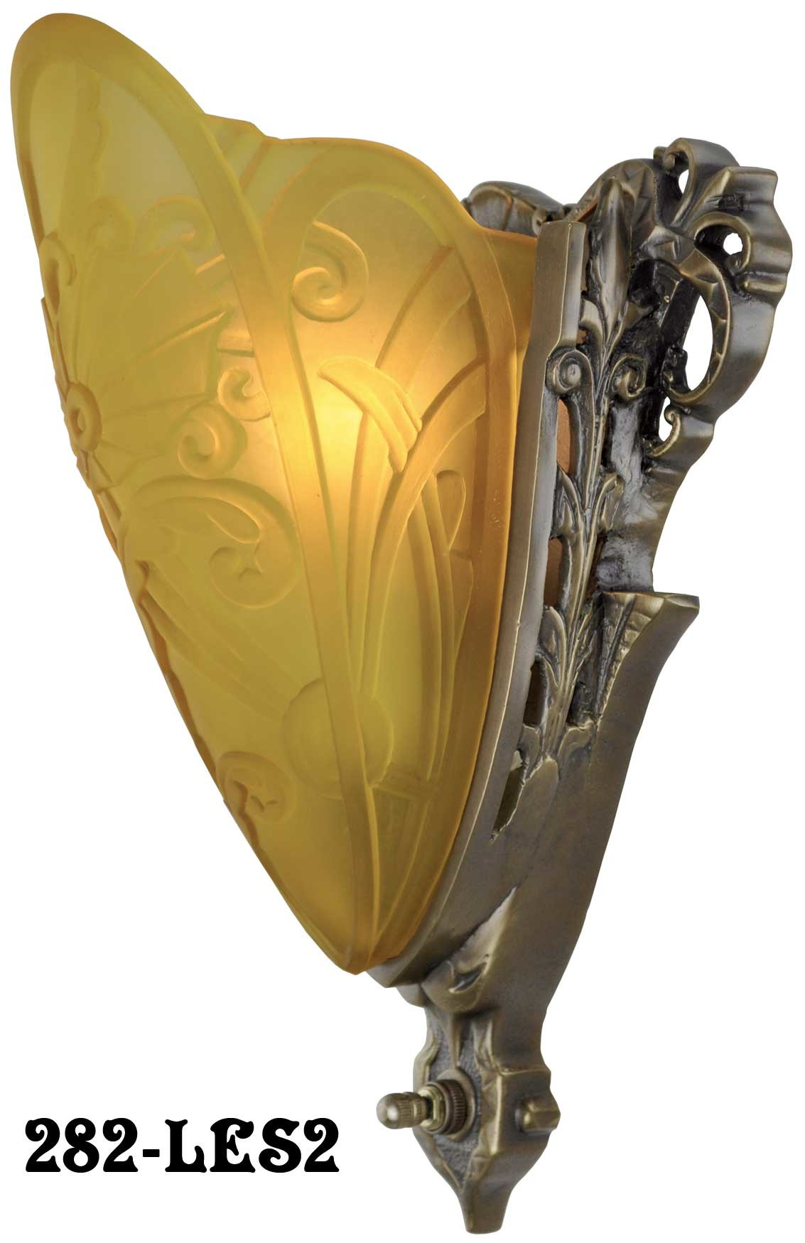 282-LES2__Art_Deco_Slip_Shade_Medieval_Sconce_With_Amber_Shade_-les2.jpg