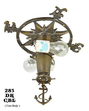 Art-Deco-Close-Ceiling-Bowl-Lights-Nautical-Marine-Fixtures-(283-DK-CBL)