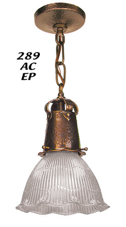 Recreated-J-Morgan-Arts-and-Crafts-Pendant-Light-2.25-inch-Fitter-(289-AC-EP)